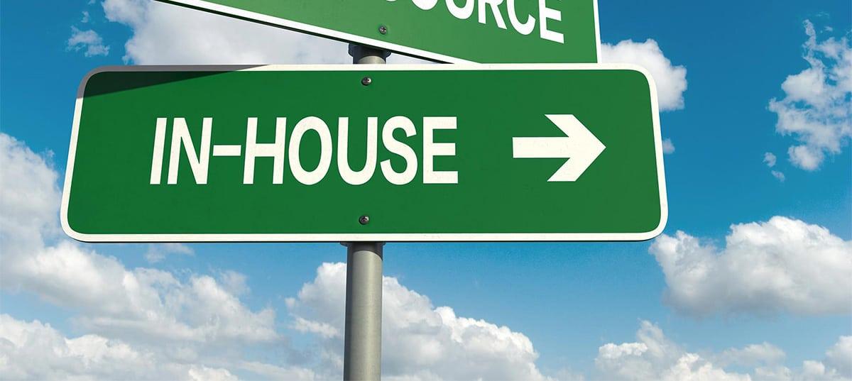 contratti società in house providing