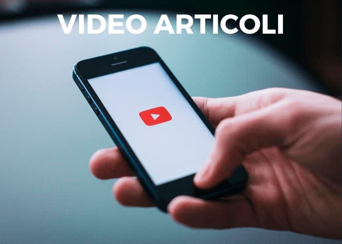 video articoli